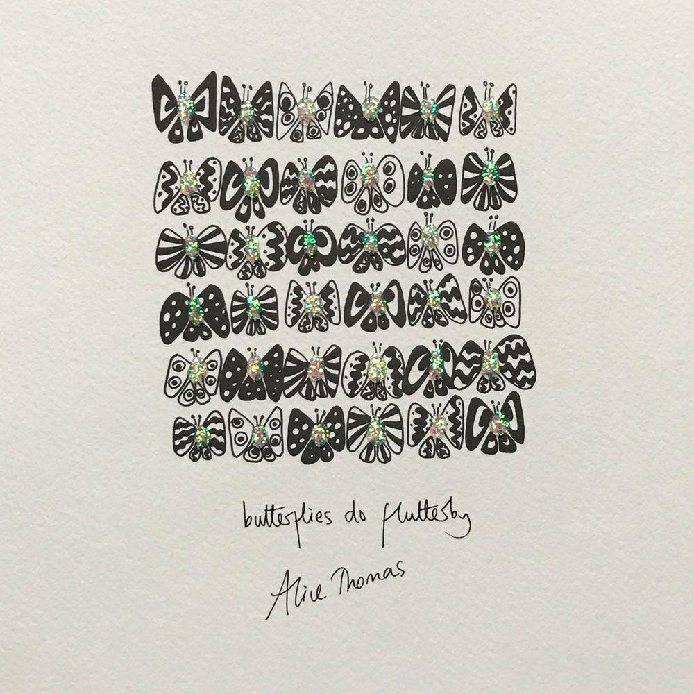 Butterflies do Flutterby