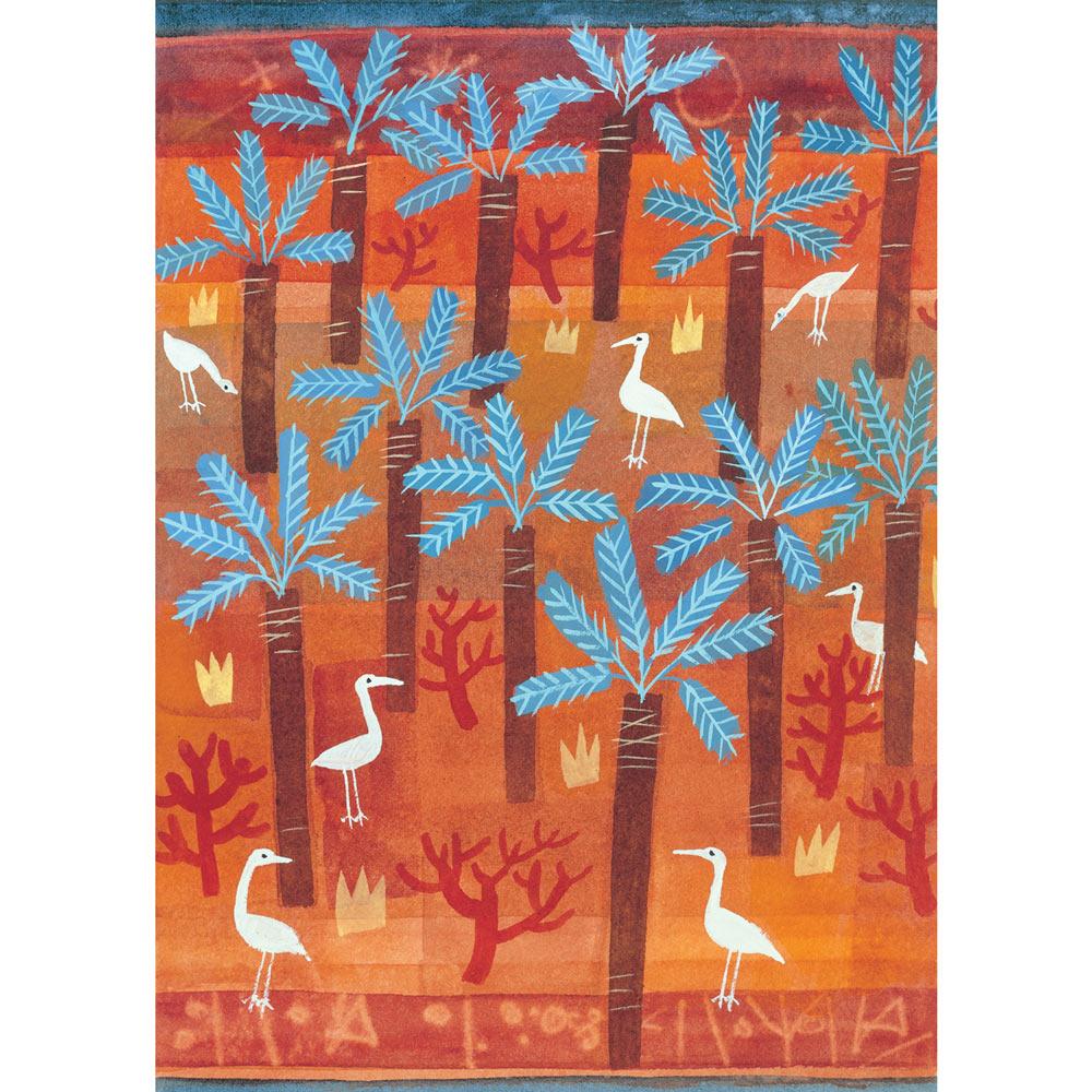 Birds and Palms